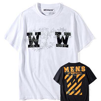 新品 数量限定   【オフホワイト OFF-WHITE】超高品質 メンズ レディース 半袖Tシャツ[OW-478]