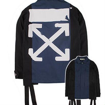 新品 数量限定  【オフホワイト OFF-WHITE】 ジャケット アウター シャツ メンズファッション [OW-466]