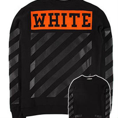 新品 数量限定  【オフホワイト OFF-WHITE】  Tシャツ 長袖 トレーナー メンズ レディース ファッション 通販 [OW-473]