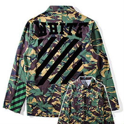 新品 数量限定  【オフホワイト OFF-WHITE】超高品質 ジャケット アウター シャツ メンズファッション [OW-417]
