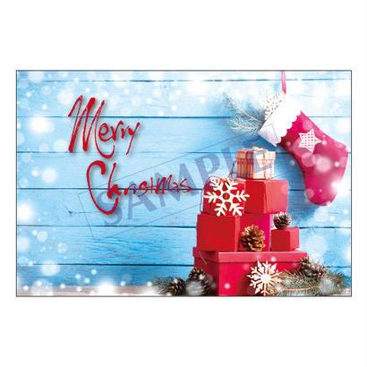メッセージカード  クリスマス 17-1812  1セット(10枚)