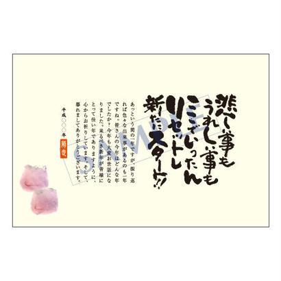 メッセージカード/年末便り/14-0736/1セット(10枚)