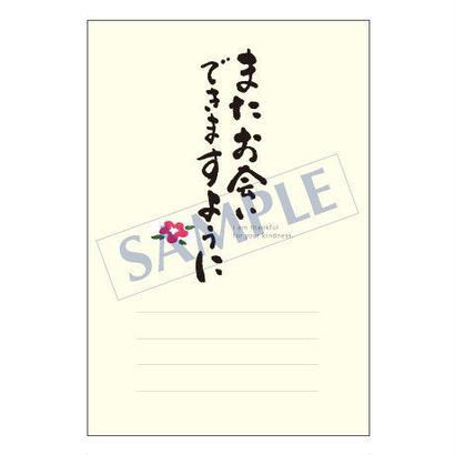 メッセージカード/出会い・感謝・お祝い・ご挨拶/11-0496/1セット(10枚)