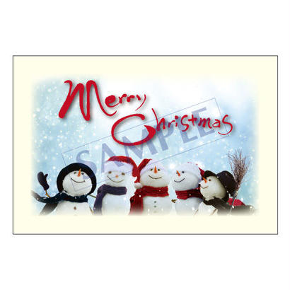 メッセージカード  クリスマス 17-1814  1セット(10枚)