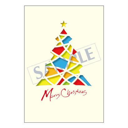 メッセージカード  クリスマス 17-0809  1セット(10枚)