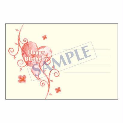 メッセージカード バースデー 14-0677 1セット(10枚)