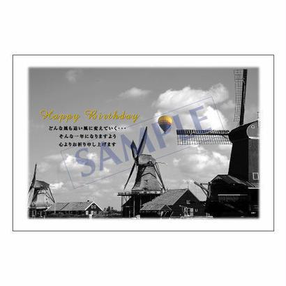 メッセージカード/バースデー/11-0525/1セット(10枚)