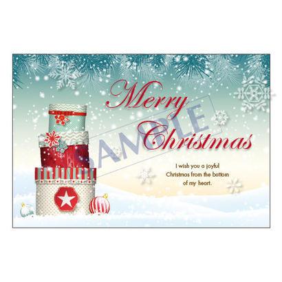 メッセージカード  クリスマス  18-0849  1セット(10枚)