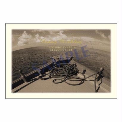 メッセージカード バースデー 11-0524 1セット(10枚)