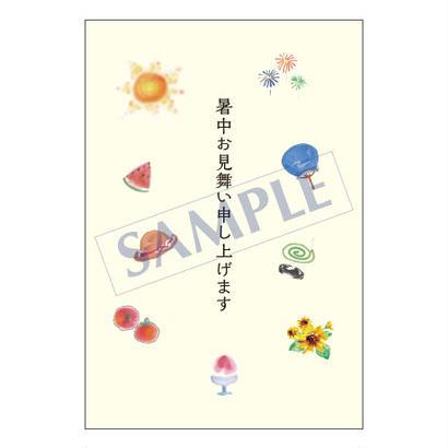 メッセージカード/季節の便り/16-0770/1セット(10枚)