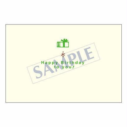メッセージカード バースデー 05-0103 1セット(10枚)