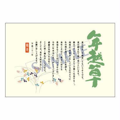 メッセージカード/年末便り/11-0553/1セット(10枚)
