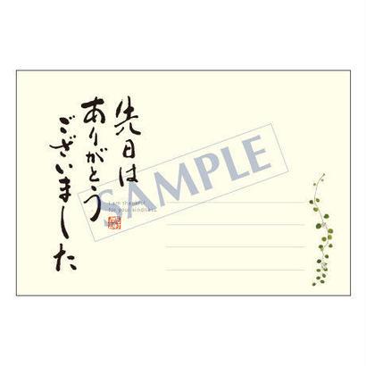 メッセージカード/出会い・感謝・お祝い・ご挨拶/11-0491/1セット(10枚)