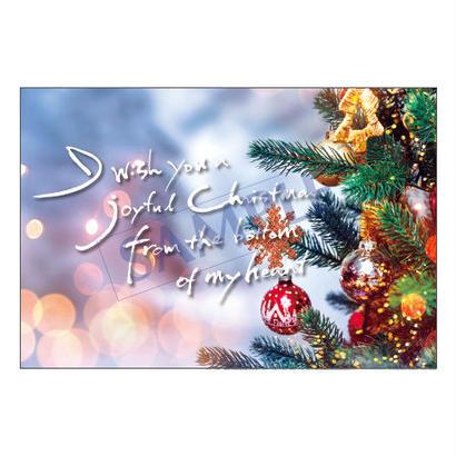 メッセージカード  クリスマス  18-0852  1セット(10枚)