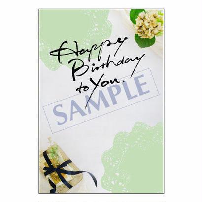 メッセージカード/バースデー/14-0657/1セット(10枚)
