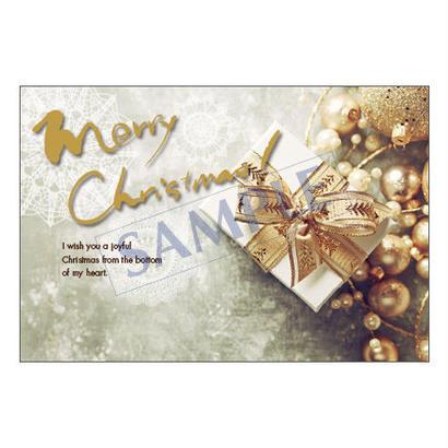 メッセージカード  クリスマス  18-0851  1セット(10枚)