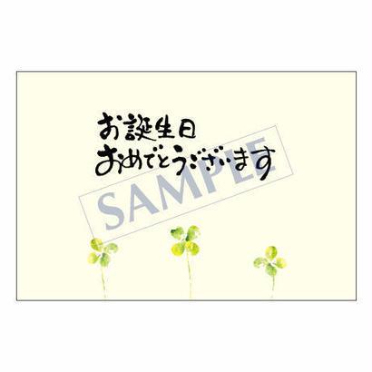 メッセージカード/バースデー/14-0668/1セット(10枚)