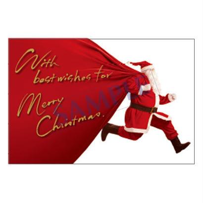メッセージカード クリスマス  18-0850  1セット(10枚)
