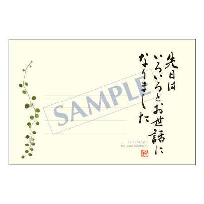 メッセージカード/出会い・感謝・お祝い・ご挨拶/11-0492/1セット(10枚)