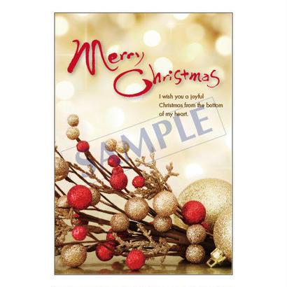 メッセージカード  クリスマス 18-0848  1セット(10枚)