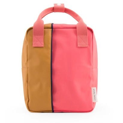 バックパック VERTICAL SMALL PINK/CARAMEL - STICKY LEMON