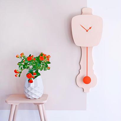 KLOQ / LARGE PEACH PASTEL  時計