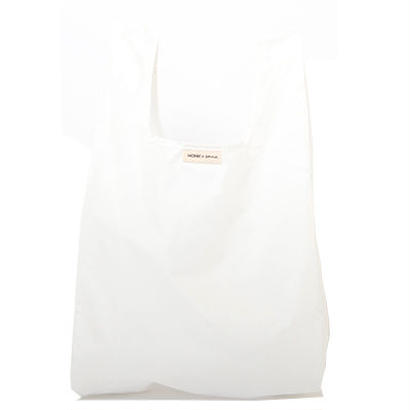 MONK ショップバッグ WHITE - MONK&ANNA