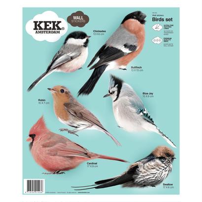 ウォールスティッカー Birds - KEK Amsterdam