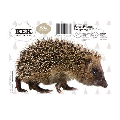ウォールスティッカー はりねずみ - KEK Amsterdam
