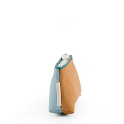 ペンケース DUO SMALL LIGHT BLUE / CARAMEL - STICKY LEMON