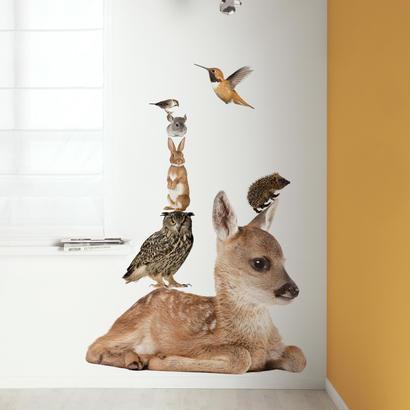 ウォールスティッカー Forest Friendsセット Deer XL - KEK Amsterdam