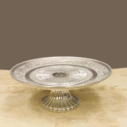 シャルマングラス コンポート/Lサイズ silver