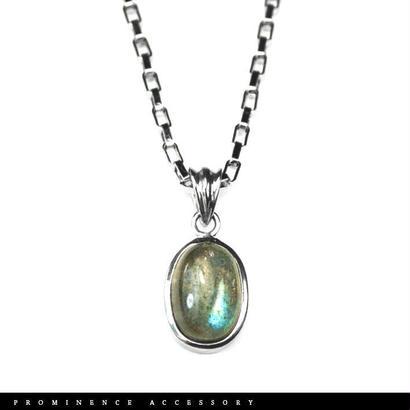 【天然石 | ラブラドライト・シンプルペンダント-01】守護・創造力・引き寄せ・深い癒し・パワーストーン