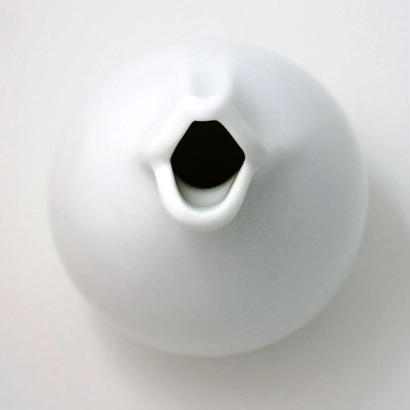 Chu-Lip Pot -Ceramic White-