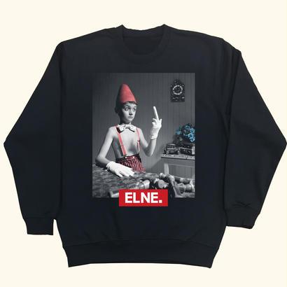 Eleven Nine / トレーナー/ Pino BoxRogo/ブラック
