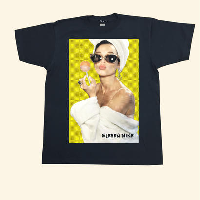 Eleven Nine / Tシャツ/ Chups  girl /ブラック