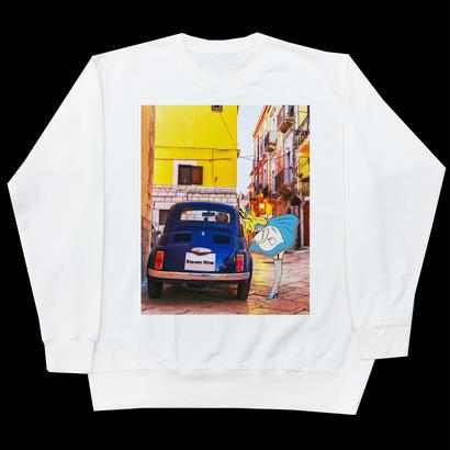 Eleven Nine / トレーナー/Alice  car /ホワイト