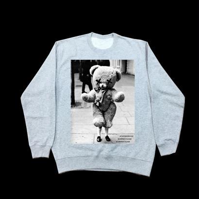 Eleven Nine / トレーナー/Teddy bear/グレイ