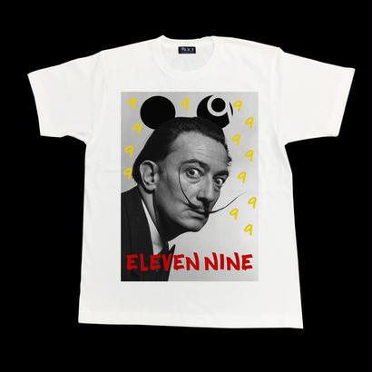 Eleven Nine / Tシャツ/ Dalí 9 /ホワイト