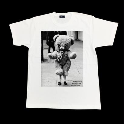 Eleven Nine / Tシャツ/ Teddy bear/ホワイト