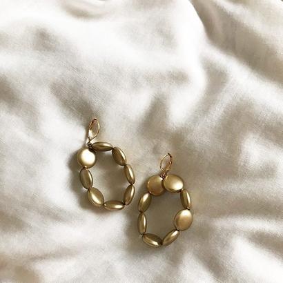 Mat pierce/earring