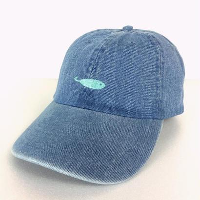 KAKI P Curve Cap DENIM/Lt.BLUE
