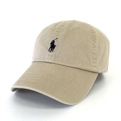 POLO by RALPH LAUREN PONY Baseball Cap NUBACK