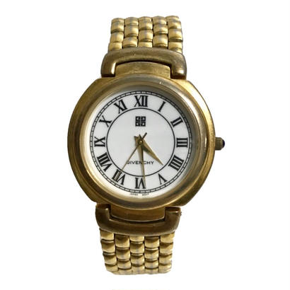 GIVENCHY gold chain Watch