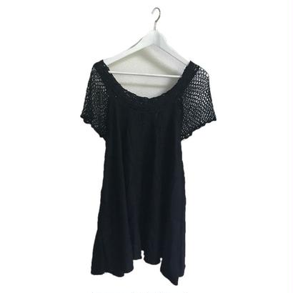 arm net lace design tunic