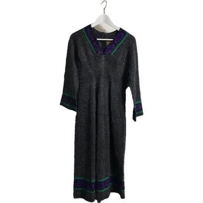Vneck knit onepice