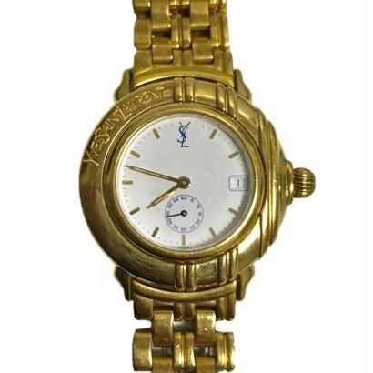 YSL gold design Watch