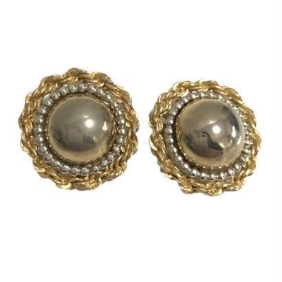 gold chain design earrings