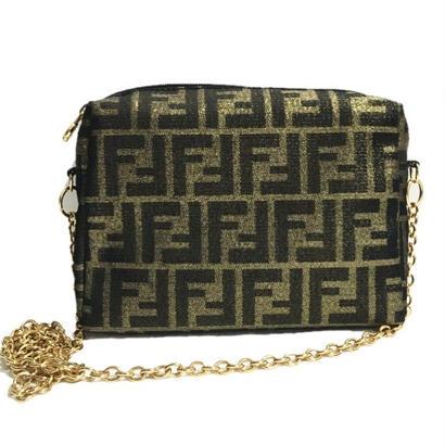 FENDI gold chain shoulder bag