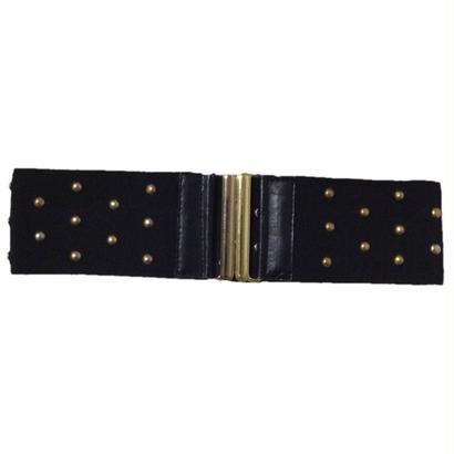 gold studs gom belt